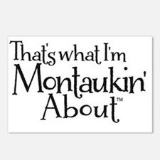 Thats what Im Montaukin A Postcards (Package of 8)