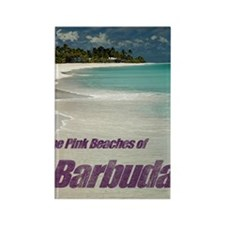 Barbuda Cover Rectangle Magnet