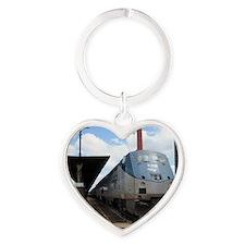 All Aboard! Heart Keychain