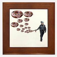 Copper Donut Dream Time Framed Tile
