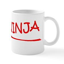 Designer job ninja Mug
