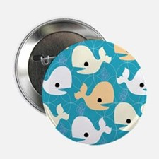 "Whale Fun 2.25"" Button"