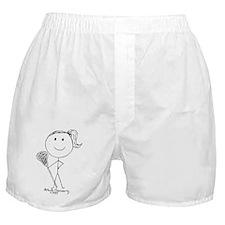 Lacrosse Stickgirl BLWTP Boxer Shorts