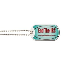End The IRS Dog Tags
