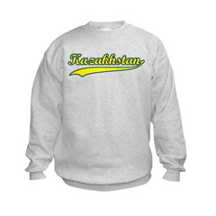 Retro Kazakhstan Sweatshirt