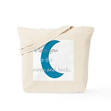 moonandback Tote Bag