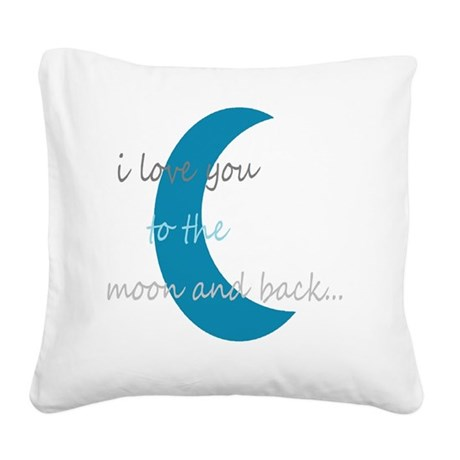 moonandback Square Canvas Pillow