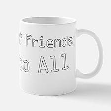 Reply to All W on B Mug