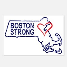 Boston Strong Heart Postcards (Package of 8)