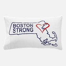 Boston Strong Heart Pillow Case