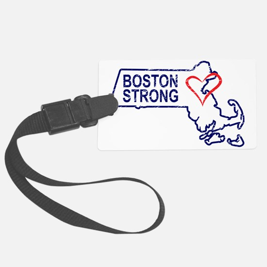 Boston Strong Heart Luggage Tag