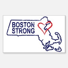 Boston Strong Heart Decal