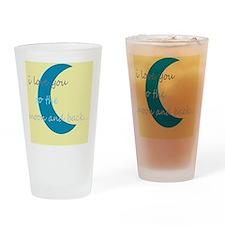 moonandbackyello Drinking Glass