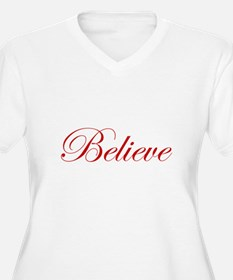 Red Believe T-Shirt
