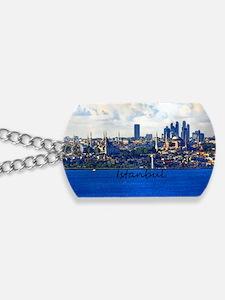 Istanbul_12.2x6.64_BlueMosque_HagiaSophia Dog Tags