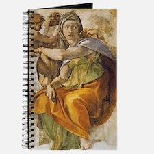 Michelangelo Delphic Sibyl Journal