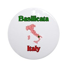 Basilicata Ornament (Round)