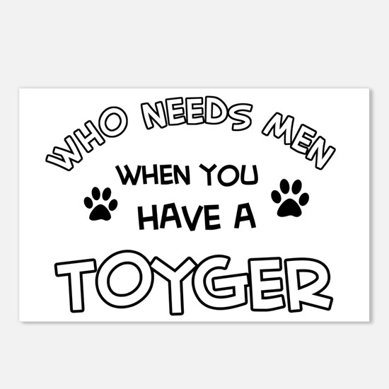 Toyger Cat Designs Postcards (Package of 8)