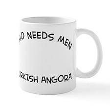 Turkish Angora Cat Designs Mug