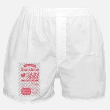 You Are My Sunshine Boxer Shorts