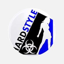 """Hardstyle Dancer and Biohazard design 3.5"""" Button"""