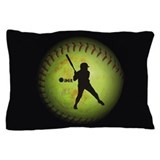 Fastpitch softball Pillow Cases