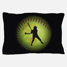 iHit Fastpitch Softball (right handed) Pillow Case