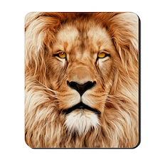 Lion - The King Mousepad
