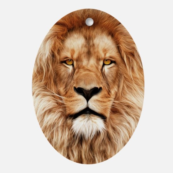 Lion - The King Oval Ornament