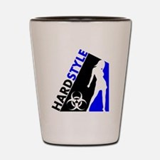 Hardstyle Dancer and Biohazard design Shot Glass