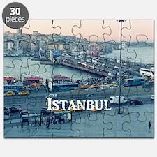 Istanbul_11x9_CalendarPrint_GalataBridgeAcr Puzzle
