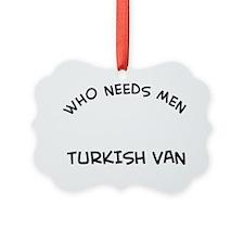 Turkish Van Cat Designs Ornament