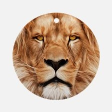 Lion - The King Round Ornament