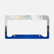 Istanbul_5x3rect_sticker_Blue License Plate Holder