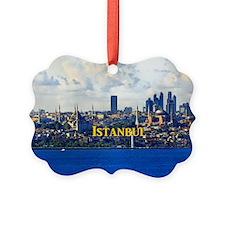 Istanbul_5x3rect_sticker_BlueMosq Ornament
