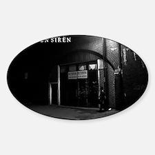 Siren Back Alley Sticker (Oval)