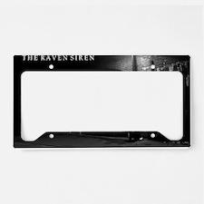 Siren Back Alley License Plate Holder