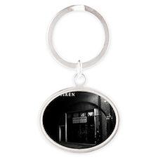 Siren Back Alley Oval Keychain