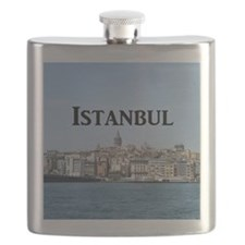 Istanbul_9.5x8_Mousepad_GalataTower Flask