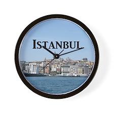 Istanbul_9.5x8_Mousepad_GalataTower Wall Clock