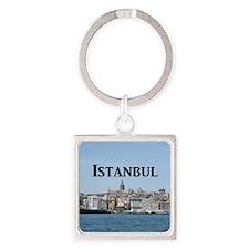 Istanbul_9.5x8_Mousepad_GalataTowe Square Keychain