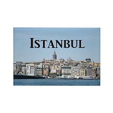 Istanbul_9.5x8_Mousepad_GalataTow Rectangle Magnet