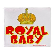 Royal Baby Throw Blanket