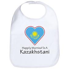Happily Married Kazakhstan Bib
