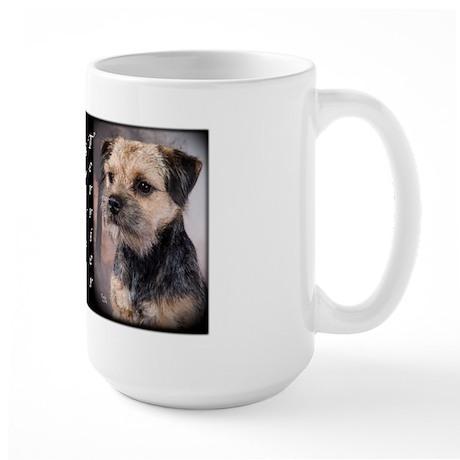 Border Terrier Large Mug