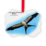 Swallow tailed kite Picture Frame Ornaments