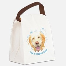 Life is Doggone Good (Magnet/Butt Canvas Lunch Bag