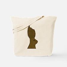 Chocolate Bunny Ears  Tote Bag