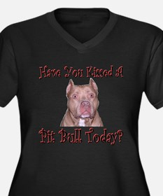Have You? (Buster) Women's Plus Size V-Neck Dark T