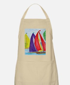 Colorful Regatta Sails Apron